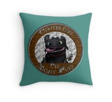 Toothless the Night Fury Throw Pillow
