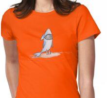 Shark Boy Womens Fitted T-Shirt