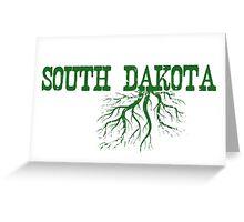 South Dakota Roots Greeting Card