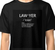 law·yer - Lawyer Defined Classic T-Shirt