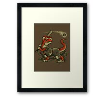 Fight The Asteroid Framed Print