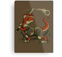 Fight The Asteroid Metal Print
