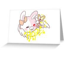 Super Dangan Ronpa 2 Monomi Greeting Card