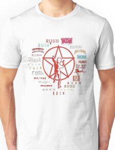 Rush Evolution of Logo Adult T-shirt Unisex T-Shirt