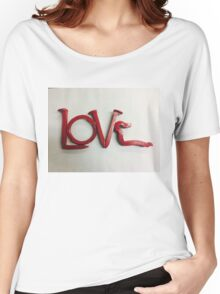 Love In Red Women's Relaxed Fit T-Shirt