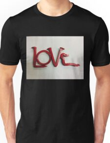 Love In Red Unisex T-Shirt