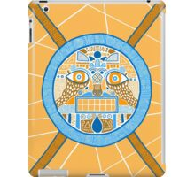 Facing the disk iPad Case/Skin