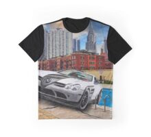 Car in pool Graphic T-Shirt