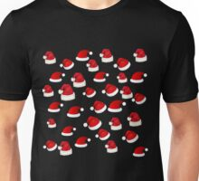 Merry Christmas Hats Unisex T-Shirt