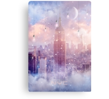 All of the Stars / City Dreams NYC (City Lights Series) Metal Print