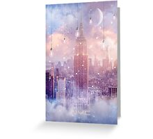 All of the Stars / City Dreams NYC (City Lights Series) Greeting Card