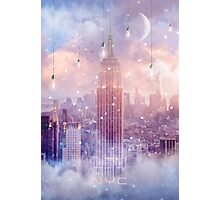All of the Stars / City Dreams NYC (City Lights Series) Photographic Print