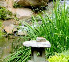 Japanese Garden - Maymont Park Sticker