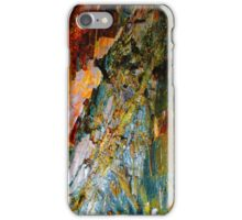 Cave Copper Grey Stone Geology iPhone Case/Skin