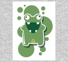 Card with cute colorful monster Kids Clothes