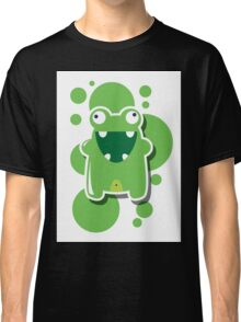 Card with cute colorful monster Classic T-Shirt