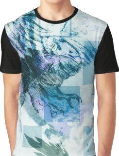 Aquatic Eagle Graphic T-Shirt