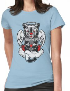 The Angel Of Cat Womens Fitted T-Shirt