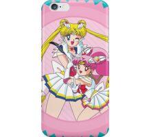 Sailor Moon & Sailor ChibiMoon iPhone Case/Skin