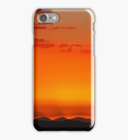 High Desert Sunset iPhone Case/Skin