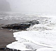 Stormy day at the beach  by jogonzalez