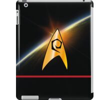 NCC 1701 Technical Services Planet iPad Case/Skin