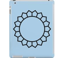 Mini Mandala Simple Design Bluebell iPad Case/Skin