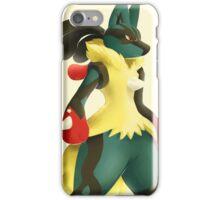 Mega lucario iPhone Case/Skin