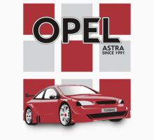 Tuned Opel Astra Kids Clothes