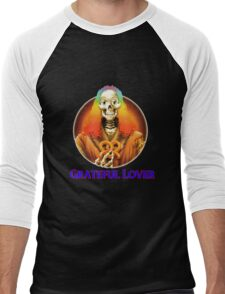 Grateful Dead Lover Men's Baseball ¾ T-Shirt