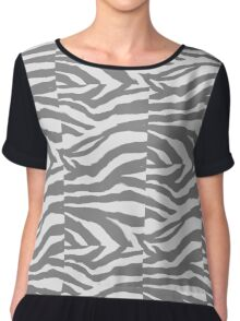 Zebra Deebra Camo Chiffon Top