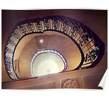 Courtauld Gallery Staircase III Poster