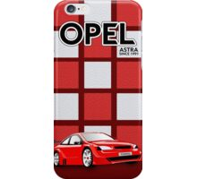 Tuned Opel Astra iPhone Case/Skin