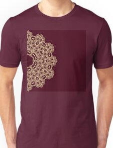 Abstract lace ornament design Unisex T-Shirt