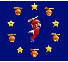 Mario in the sky Photographic Print