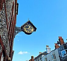 Lewes Town Clock by Ludwig Wagner