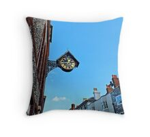 Lewes Town Clock Throw Pillow