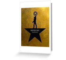 Rogers: An American Hero Greeting Card