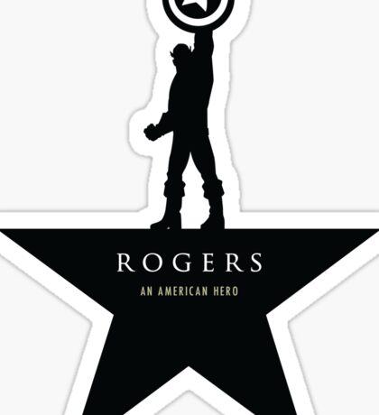 Rogers: An American Hero Sticker
