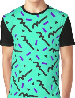 retro pattern Graphic T-Shirt