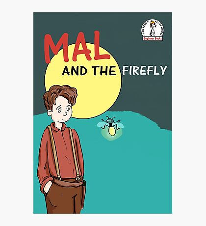 Mal and the firefly Photographic Print