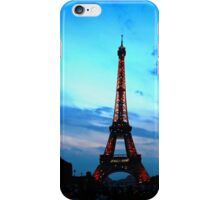 Eiffel Tower and Sky iPhone Case/Skin