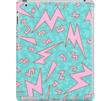 retro futuristic pattern iPad Case/Skin