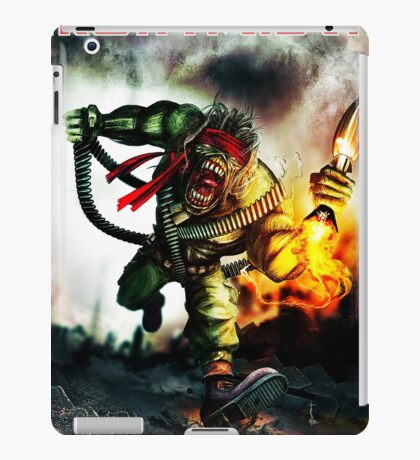 IRON MAIDEN RPG iPad Case/Skin