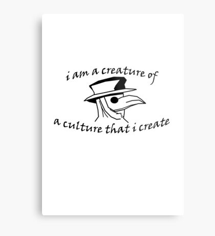 Culture That I Create - Small Design Metal Print