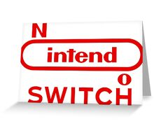 Nintedo Switch New Console Greeting Card