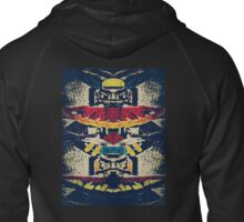 Good Luck Totem Pole  Zipped Hoodie