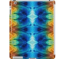 Colorful Abstract Art Pattern - Color Wheels - By Sharon Cummings iPad Case/Skin