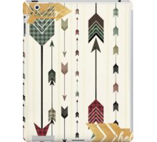 trendy,modern,arrows,pattern,rustic,country chic,elegant,girly iPad Case/Skin