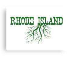 Rhode Island Roots Canvas Print